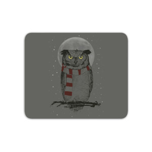 Owl And Moon Mouse Mat