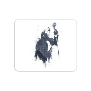 Singing Wolf Mouse Mat