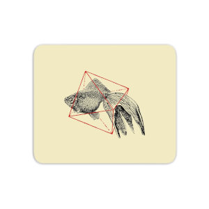 Fish In Geometry Mouse Mat