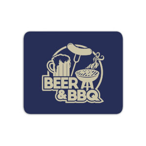 Beer & BBQ Mouse Mat