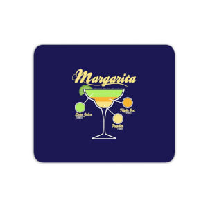 Infographic Margarita Mouse Mat
