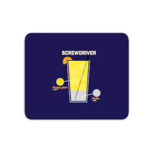 Infographic Screwdriver Mouse Mat