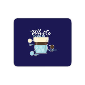 Infographic White Russian Mouse Mat
