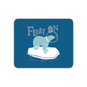 Polar Bear Float On Mouse Mat