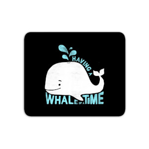 Having A Whale Of A Time Mouse Mat