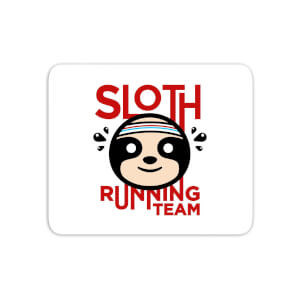 Sloth Running Team Mouse Mat