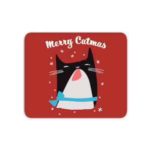 Merry Catmas Mouse Mat