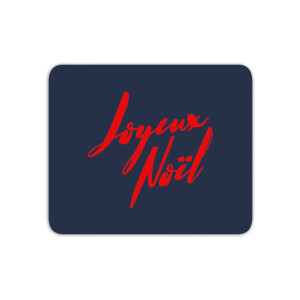 Joyeux Noel Holly Jolly International Mouse Mat