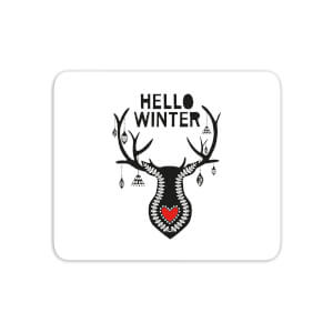 Hello Winter Mouse Mat