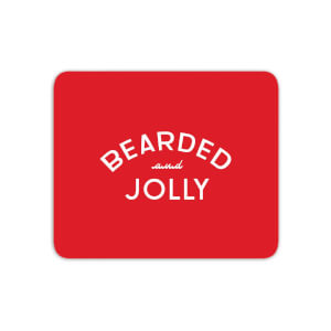 Bearded And Jolly Mouse Mat