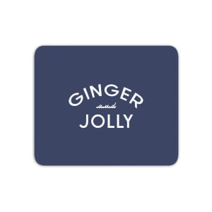Ginger And Jolly Mouse Mat