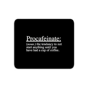 Procafeinate Mouse Mat