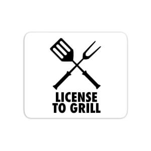 License To Grill Mouse Mat