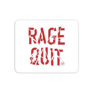 Rage Quit Mouse Mat