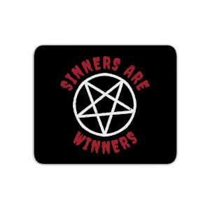 Sinners Are Winners Mouse Mat