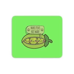 Makes Peas Not War Mouse Mat