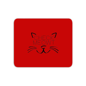 Check Meowt Mouse Mat