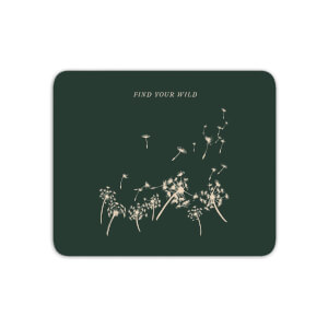 Find Your Wild Mouse Mat