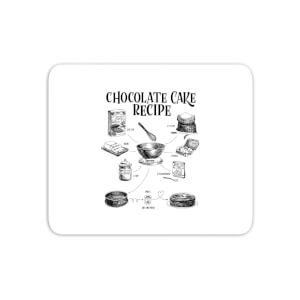 Chocolate Cake Recipe Mouse Mat