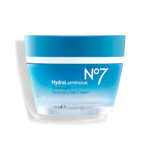 Boots No7 HydraLuminous Overnight Recovery Cream 50ml