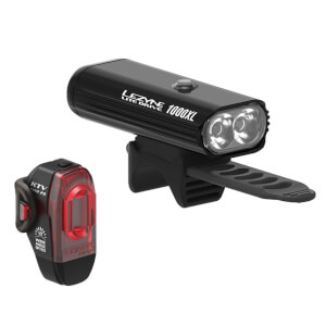 Lezyne Lite Drive 1000XL/KTV Pro Light Set