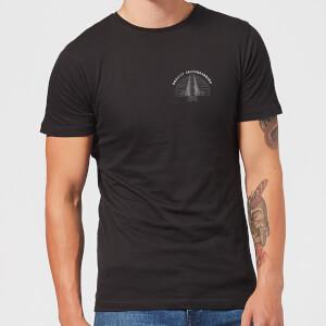 Braille Skateboarding Limited Edition Bridge Sunset Pocket Men's T-Shirt - Black