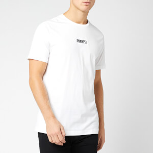Puma Men's Classics Logo N.2 Short Sleeve T-Shirt - Puma White