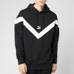 Puma Men's Iconic MCS Hoody - Puma Black/White Combo