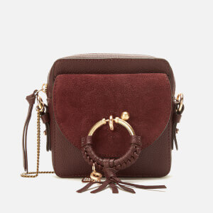 See By Chloé Women's Joan Cross Body Bag - Burgundy