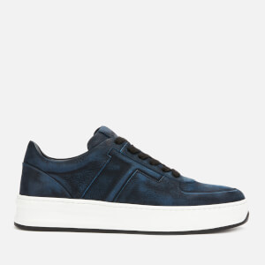 Tod's Men's Allacciata T Cassetta Low Top Trainers - Blue