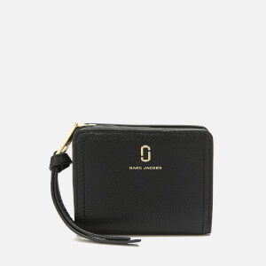 Marc Jacobs Women's Mini Compact Wallet - Black