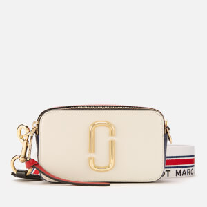 Marc Jacobs Women's Snapshot Cross Body Bag - Coconut Multi