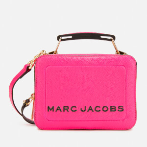 Marc Jacobs Women's The Box 20 Cross Body Bag - Diva Pink