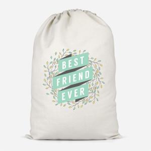 Best Friend Ever Cotton Storage Bag