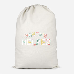 Santa's Helper Cotton Storage Bag