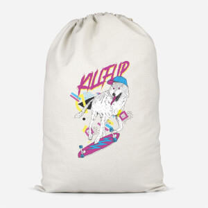 Kickflip Wolf Cotton Storage Bag