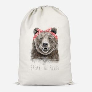Break The Rules Cotton Storage Bag