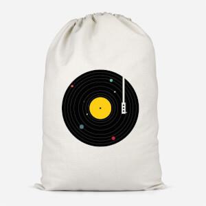 Music Everywhere Cotton Storage Bag