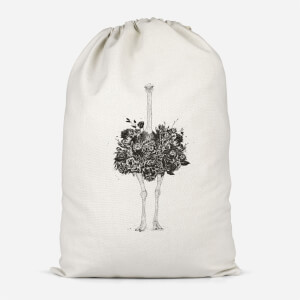 Ostrich Cotton Storage Bag