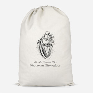 Premature Ventricular Contractions (FR) Cotton Storage Bag