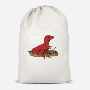 Row Row Row Your Boat Cotton Storage Bag