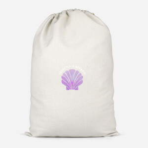 Secretly A Mermaid Cotton Storage Bag