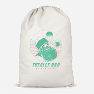 Totally Rad Christmas Cotton Storage Bag