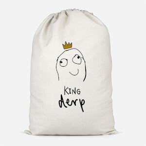 King Derp Cotton Storage Bag