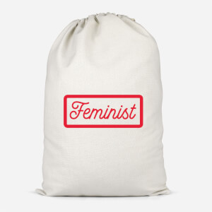 Feminist Cotton Storage Bag