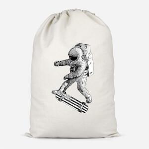 Kickflip In Space Cotton Storage Bag