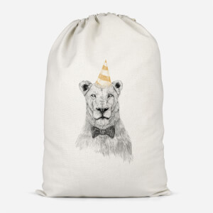 Party Lion Cotton Storage Bag