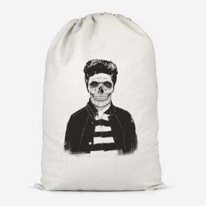 Cool Skull Cotton Storage Bag