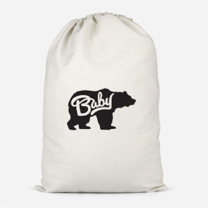 Baby Bear Cotton Storage Bag