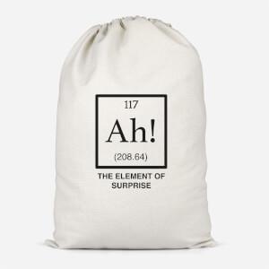 Ah The Element Of Surprise Cotton Storage Bag